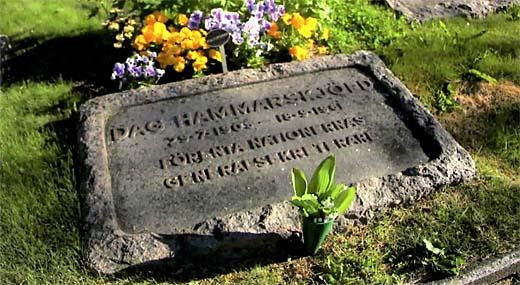 Dag Hammarskjöld 29.7 1905 - 18.9 1961