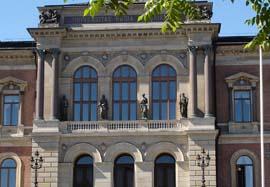 Uppsala universitet, huvudbyggnaden.