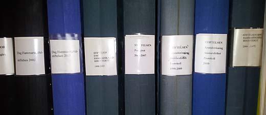 Stiftelsen Dag Hammarskjöldbibliotekets arkiv.
