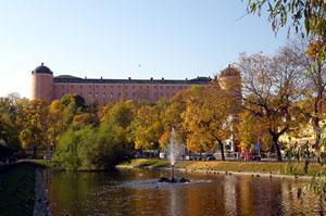 Slottet i Uppsala.