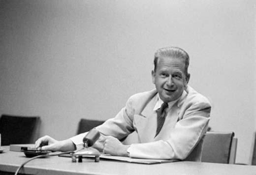 Dag Hammarskjöld, 1954