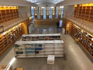 Ekelöfsalen, Dag Hammarskjöld och Juridiska biblioteket, december 2015