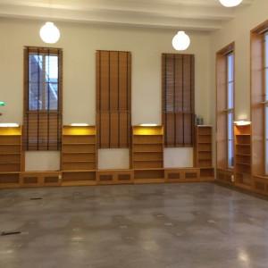Loccheniussalen, Dag Hammarskjöld och Juridiska biblioteket, Klostergatan 3, december 2015