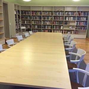 Rum 206, Dag Hammarskjöld och Juridiska biblioteket, Slottsgränd 3, december 2015